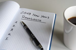 Resolutions for 2019